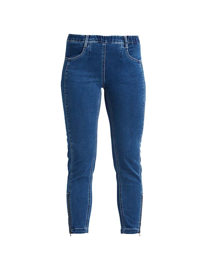 LauRie 7/8-Jeans Madison im Slim-Fit-Schnitt, Medium blue denim