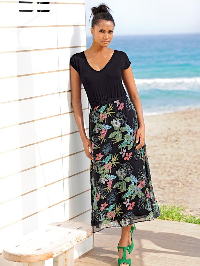 Strandkleid mit Oberteil in Shirtform
