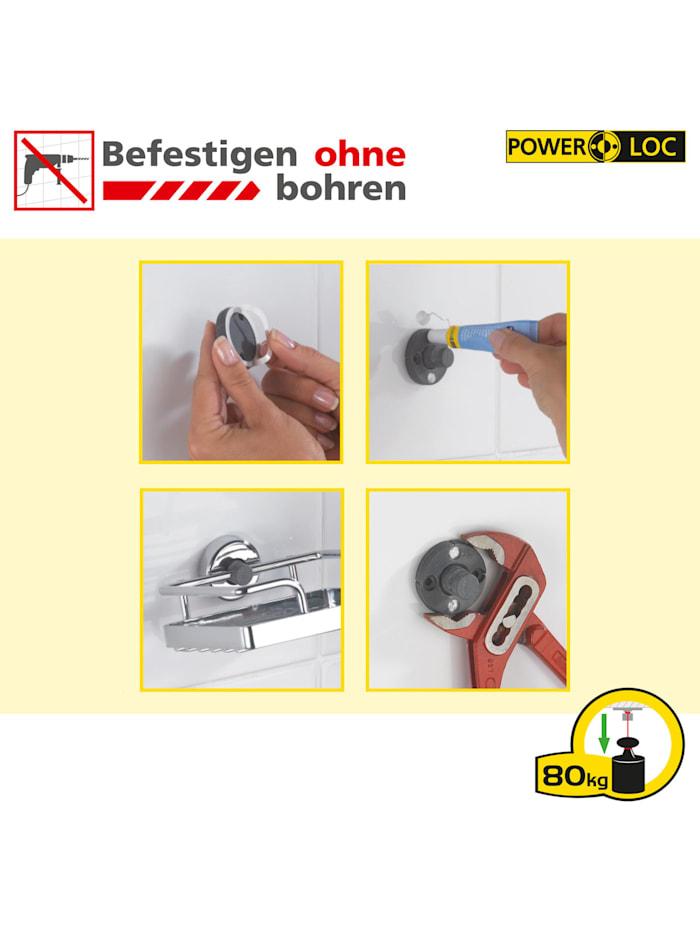 Power-Loc® Badetuchstange Uno 60 cm Laceno, Edelstahl, Befestigen ohne bohren