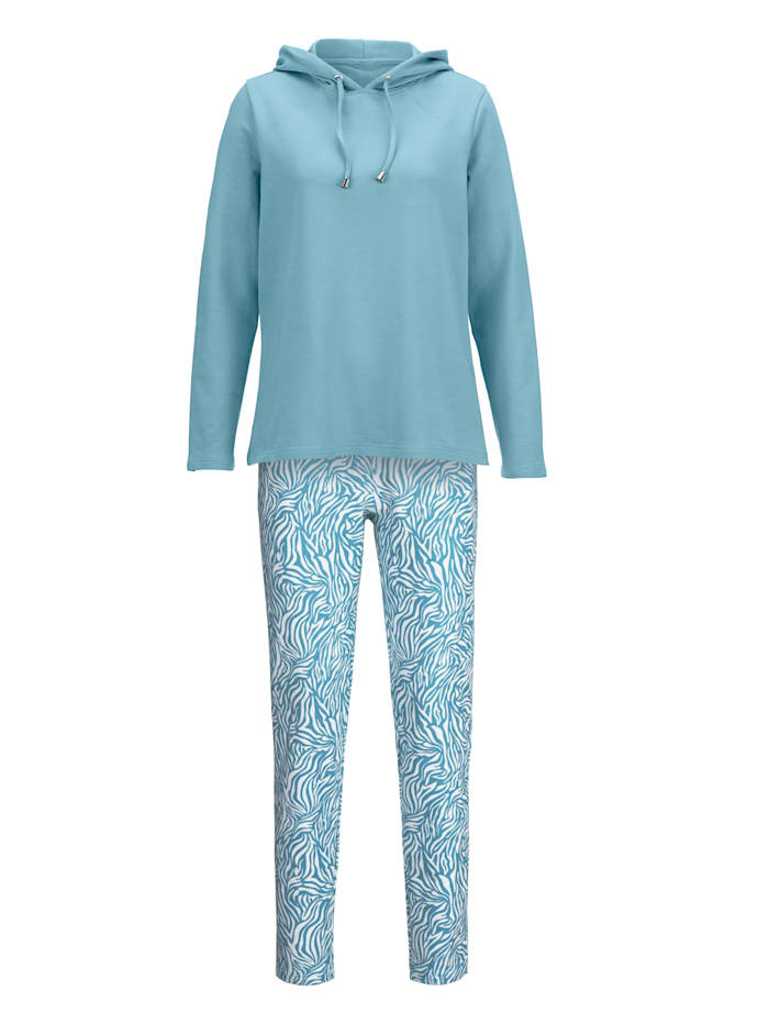 Loungewear Set with fashionable dividing seams