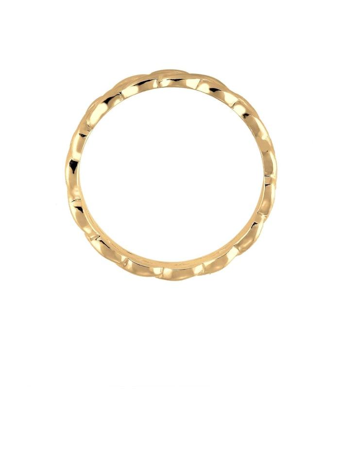 Ring Knoten Twisted Trend Blogger Unendlich 925 Silber