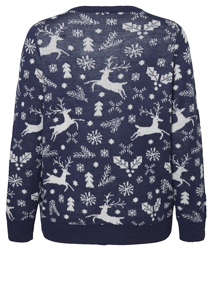 Pullover mit winterlichen Motiven