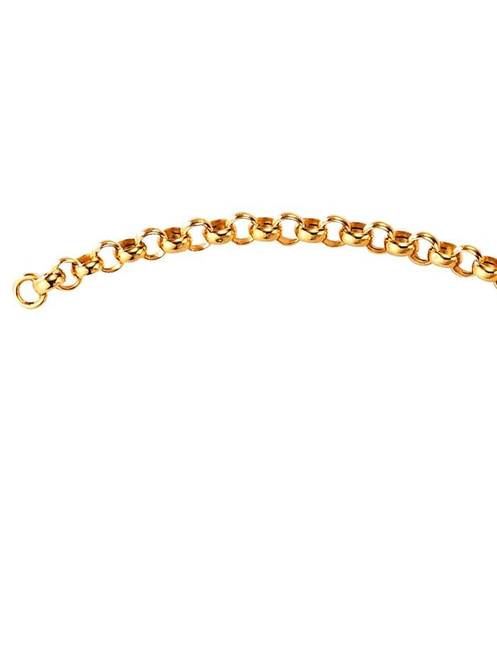 Erbsarmband in Gelbgold, Gelbgoldfarben