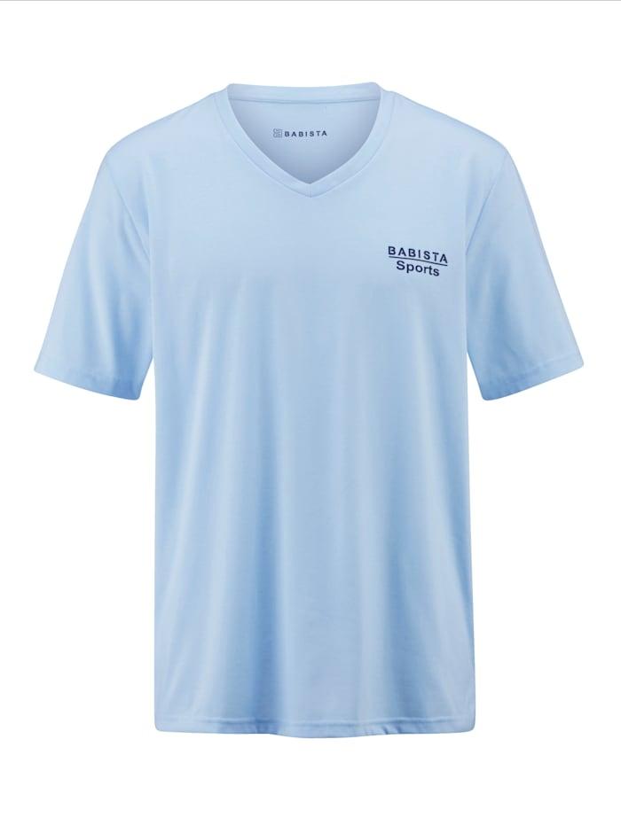 BABISTA Shirt van sneldrogend materiaal, Lichtblauw
