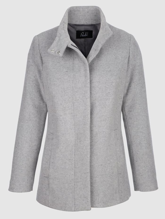 Vlnený kabát v hodnotnej kvalite