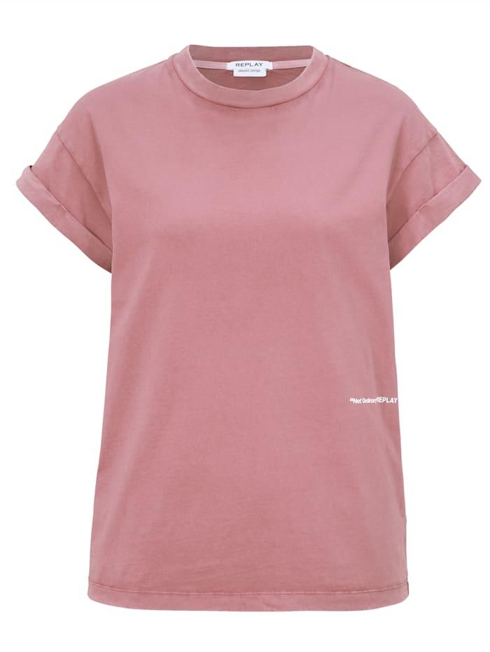 REPLAY T-Shirt, Rosé