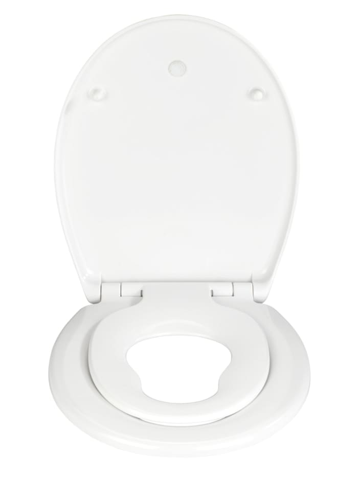 WC-Sitz Delos Family, aus antibakteriellem Duroplast, mit Absenkautomatik