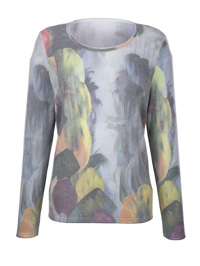 Pullover mit Alloverdruck