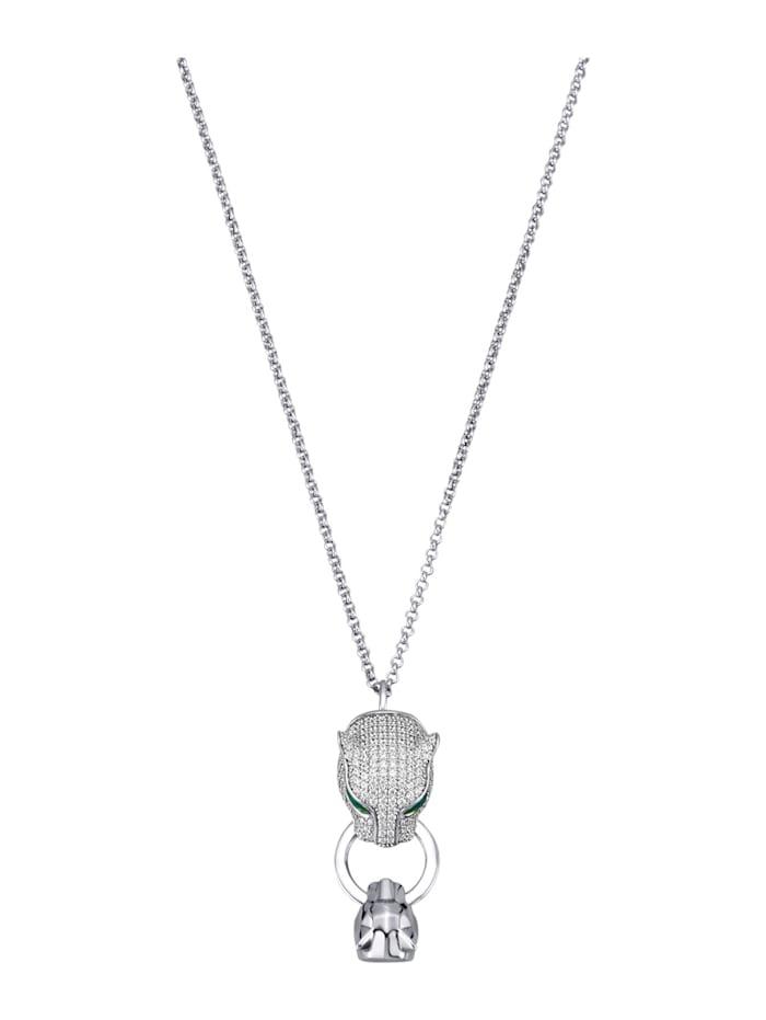 Diemer Trend Anhänger mit Kette in Silber 925, Silberfarben