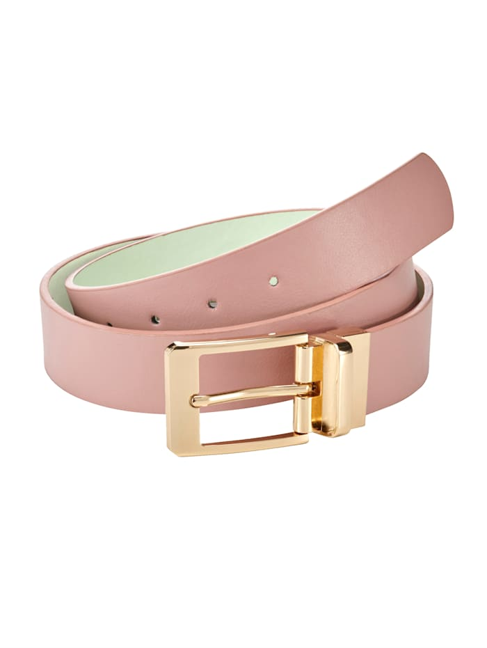 Reversible belt, Pink/Green