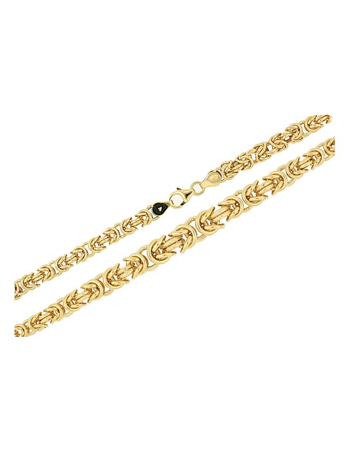 Diemer Gold Königskette in Gold 585, Gelbgoldfarben