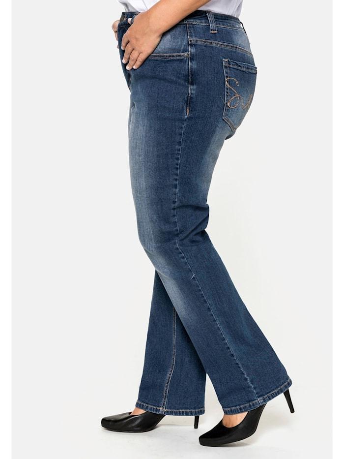 Shaping-Jeans Bauch-weg-Effekt