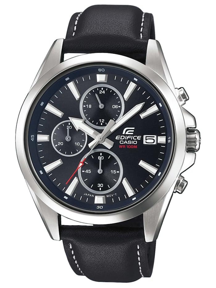 Casio Edifice Classic Chronograph Herrenarmbanduhr, Schwarz