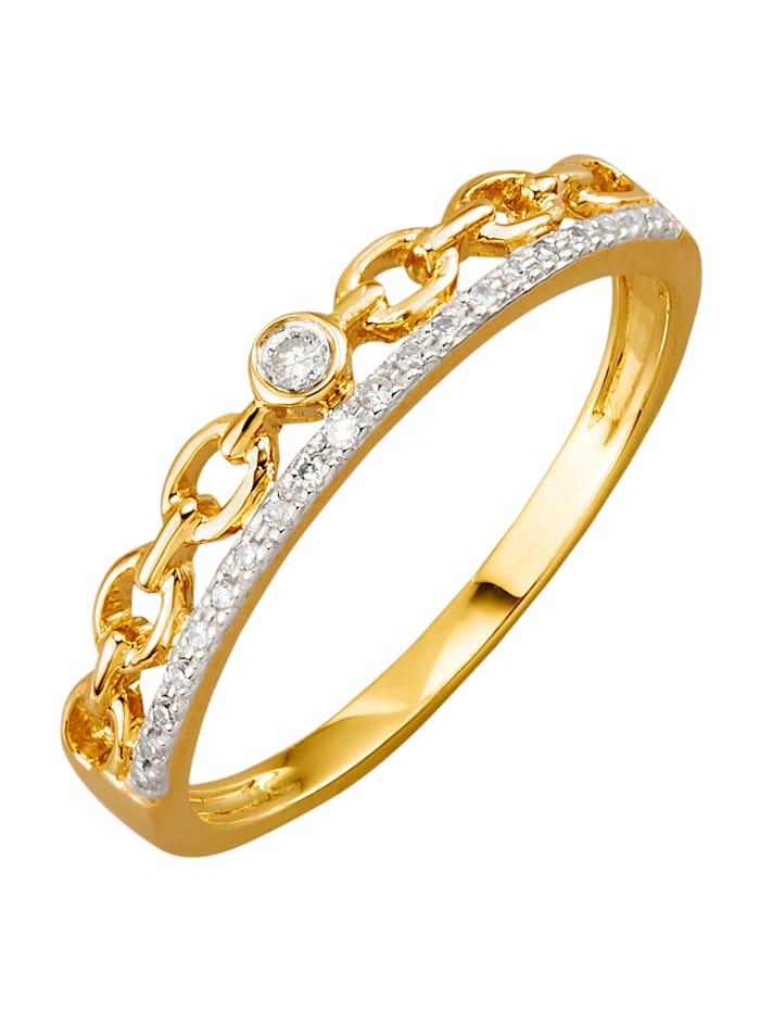 Naisten sormus, Keltakullanvärinen