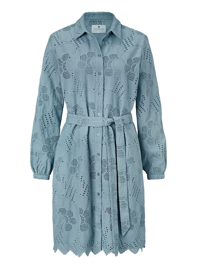 Lieblingsstück Kleid, Graublau