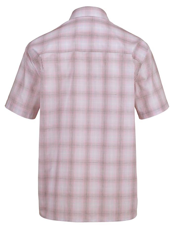 Kortärmad skjorta i lättstruket material
