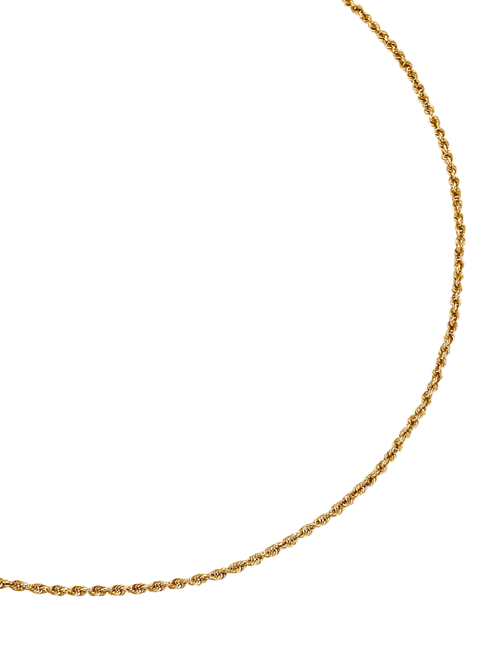 Amara Gold Kordelkette in Gelbgold, Gelb