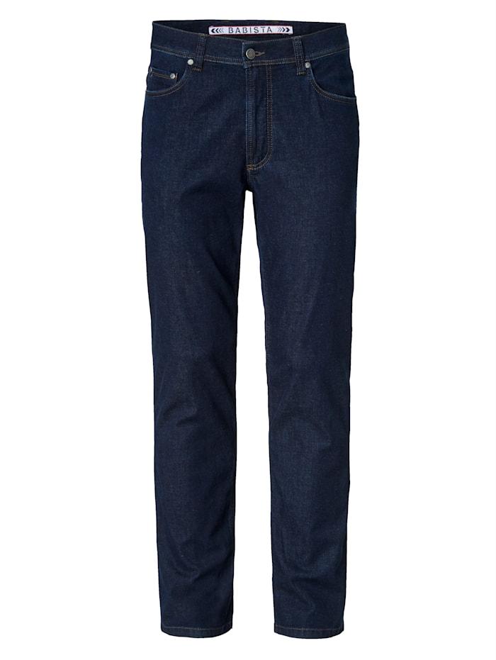 BABISTA Jeans met lycra-technologie, Donkerblauw