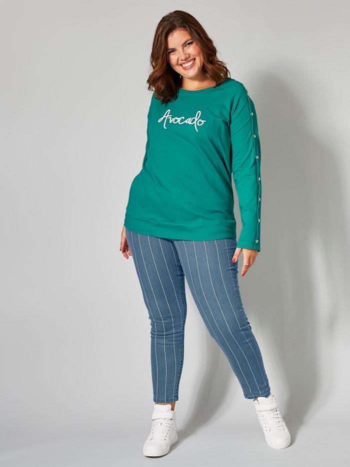 Sweatshirt mit Frontprint