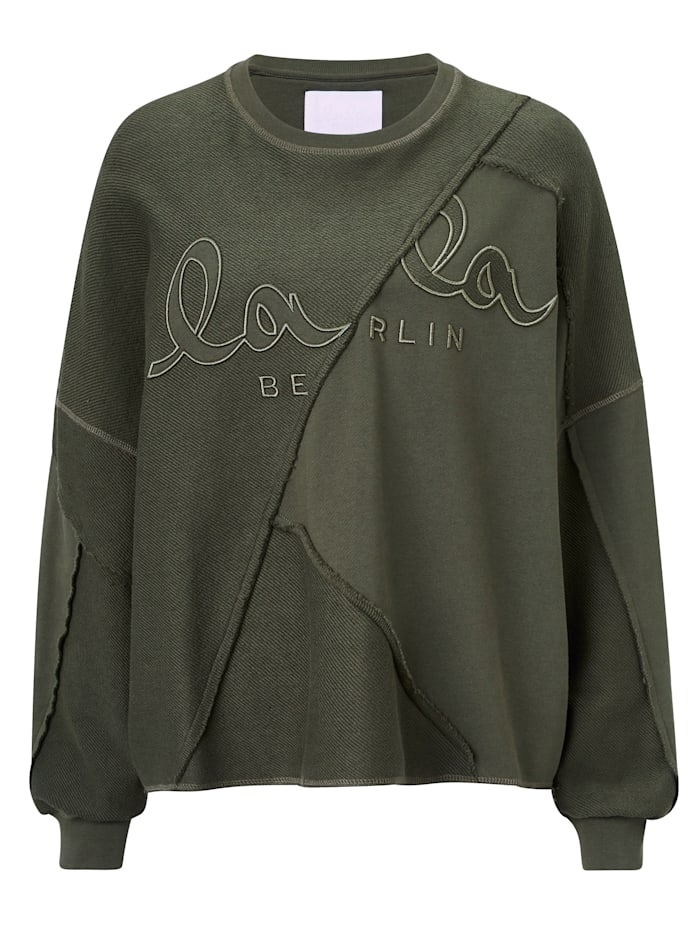 Lala Berlin Sweatshirt, Khaki