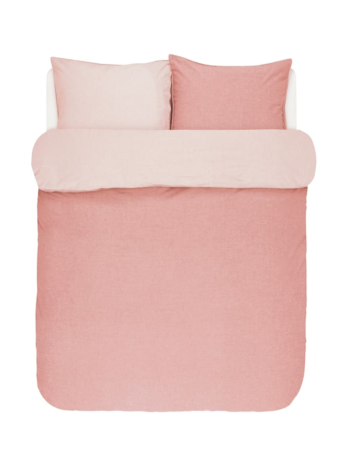 Marc O'Polo Bettwäsche 'Washed Chambray', Rosé