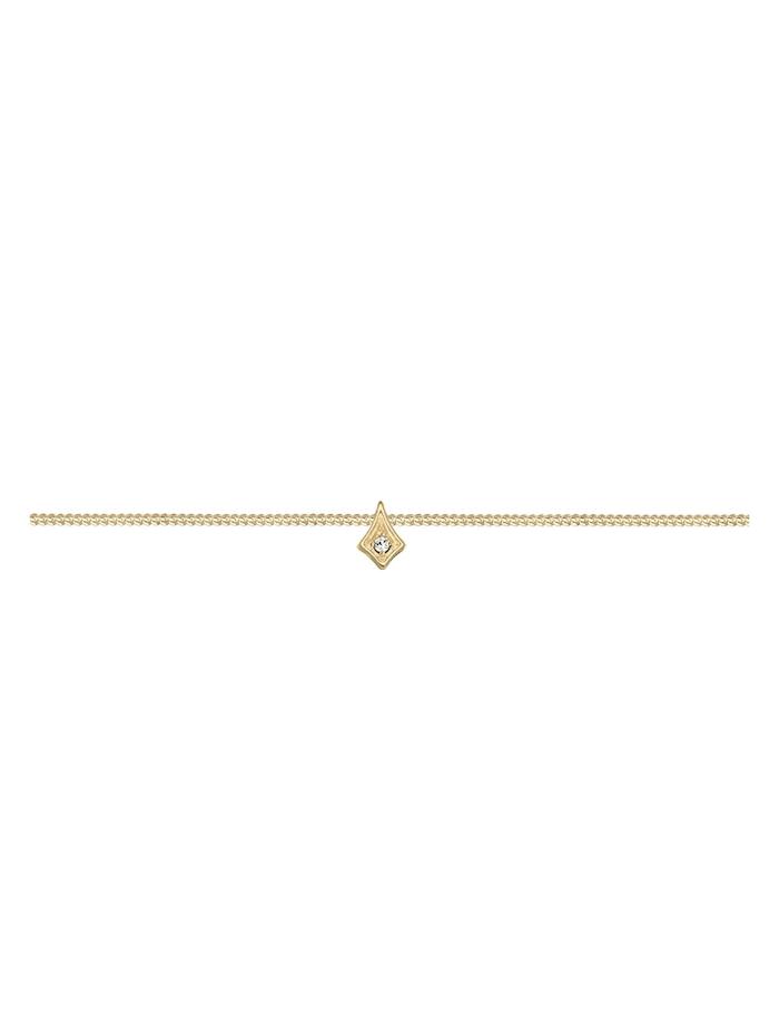 Halskette Astro Choker Kristalle 925 Silber