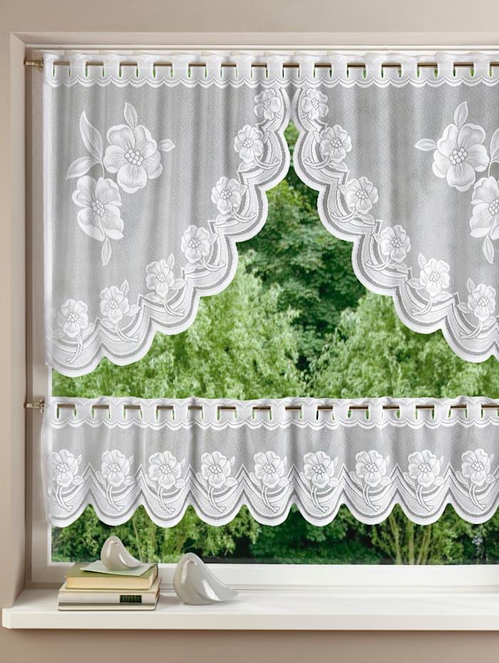 Záclona Rose 2-d. set