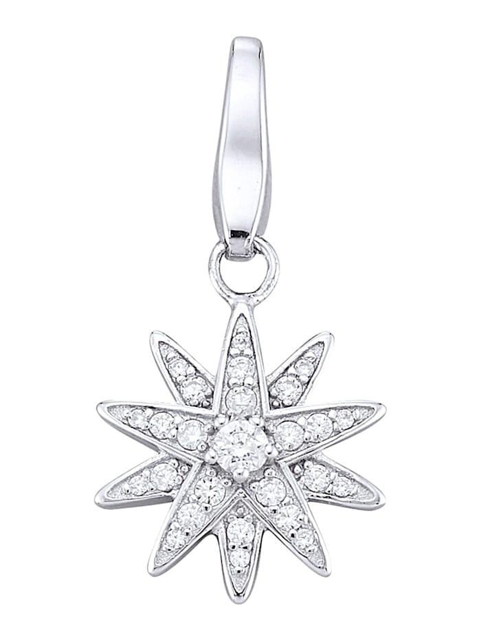 Atelier Imperial Sisi Berlock med stjärna, Silverfärgad