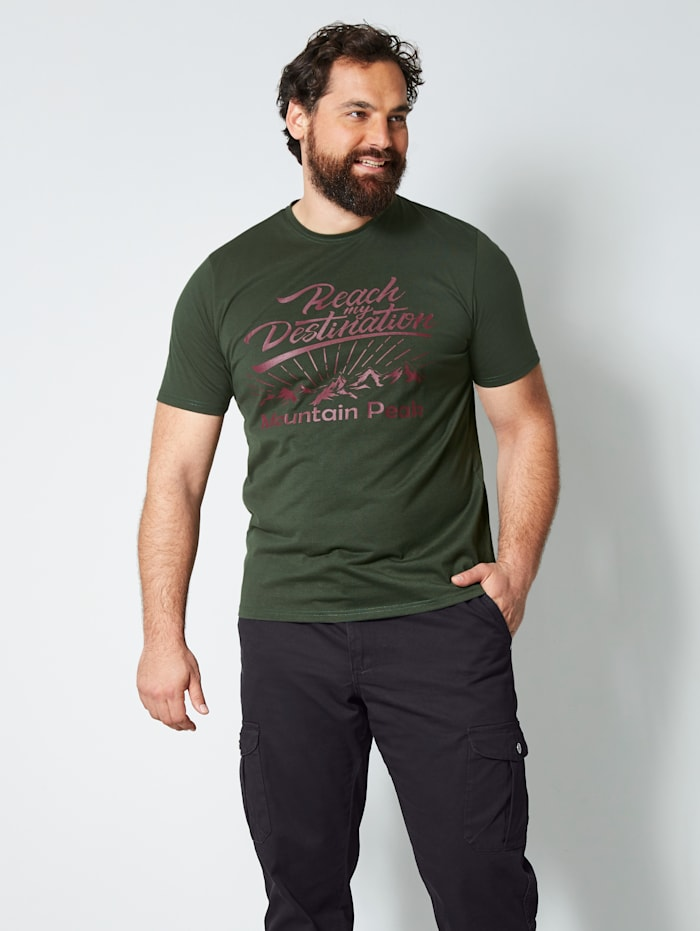 Men Plus T-Shirt schnelltrocknend, Dunkelgrün