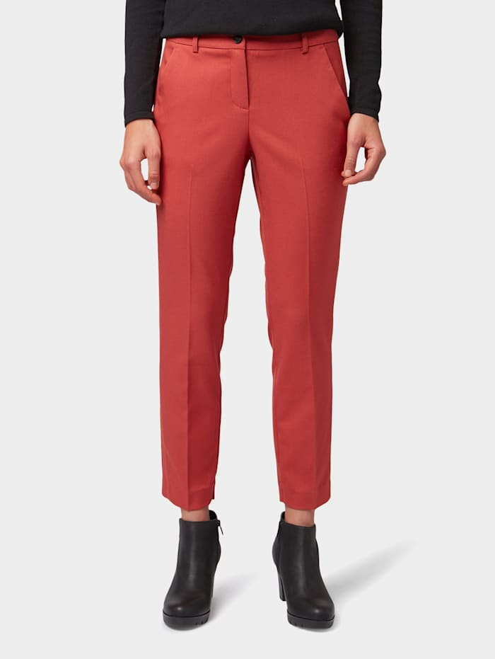 Tom Tailor Nena & Larissa: Mia Slim Ankle Hose, dry red