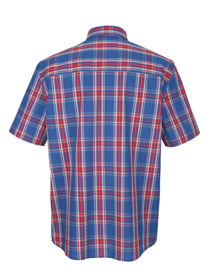Hemd mit garngefärbtem Karomuster