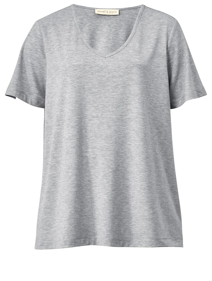 Shirt aus reiner Viskose