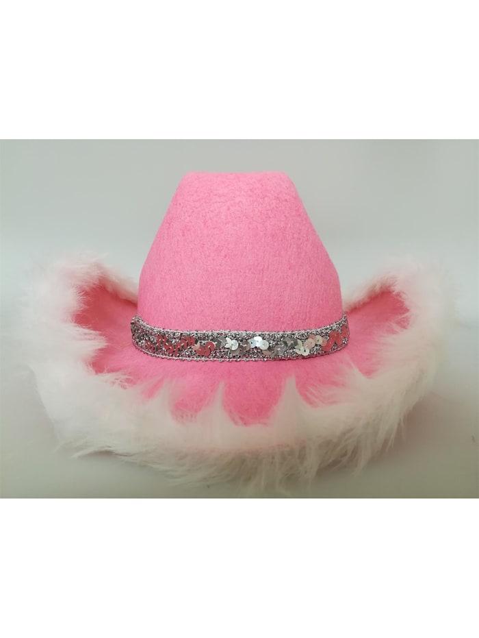 HTI-Living Karnevalshut Cowboy, Pink