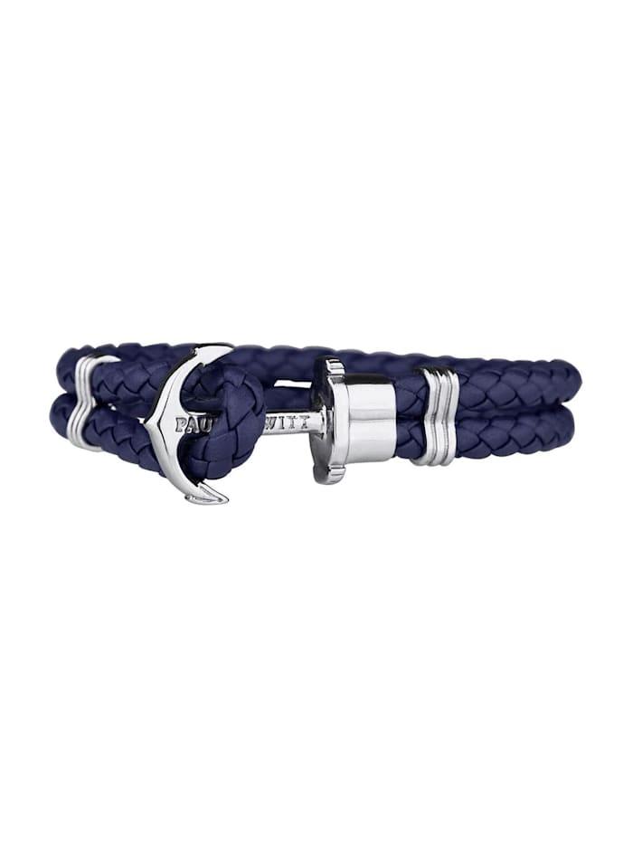 Paul Hewitt Paul Hewitt Armband, blau/silber