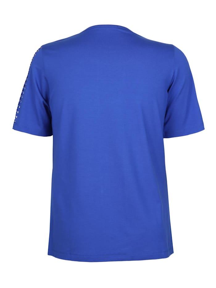 Shirt mit Ausbrenner-Muster Ausbrenner