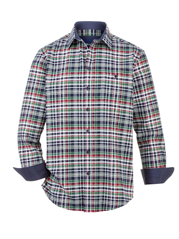 BABISTA Flanellhemd mit 1 Brusttasche, Grün/Weiß