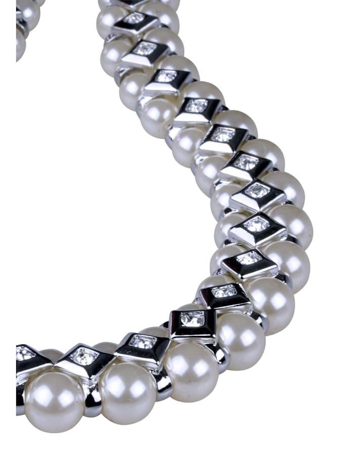 Kurze Kette Perla mit Perlen