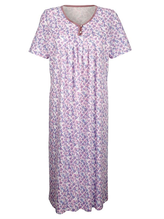 Nachthemden mit floralem Druck