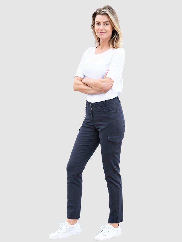 Pantalon cargo de coupe Sabine Slim