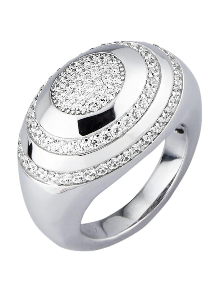 Amara Trend Damenring, Silberfarben