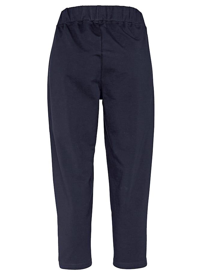 Športové nohavice, 2 kusy s lemovaním