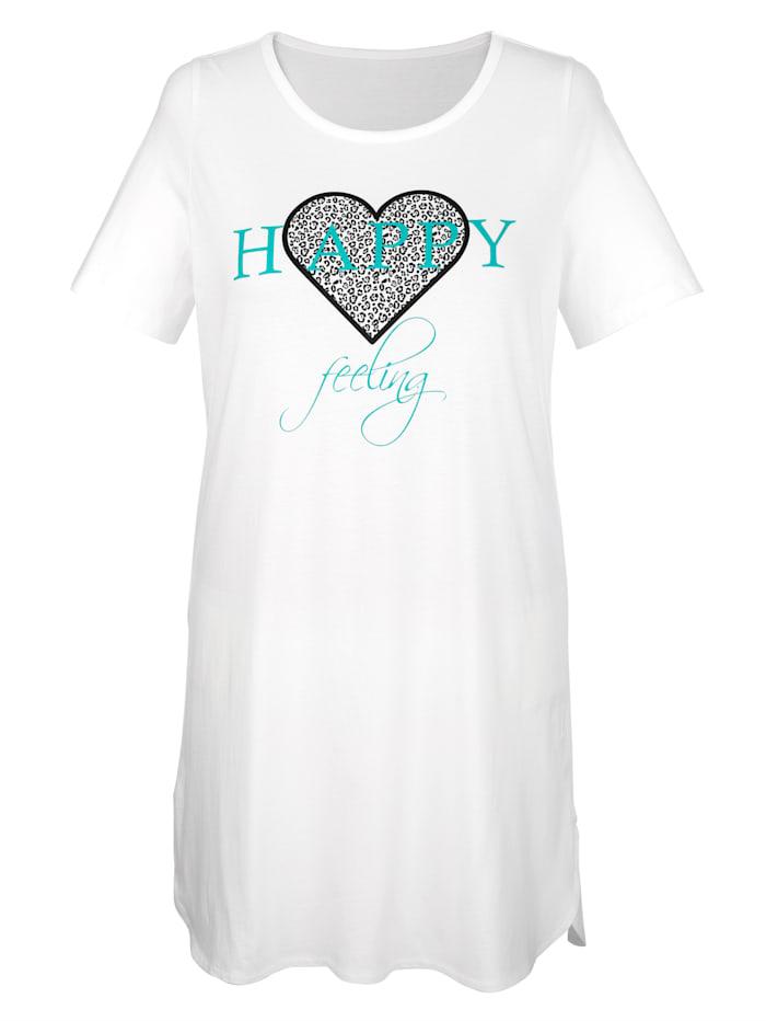 Lot de 3 chemises de nuit à motifs imprimés tendance