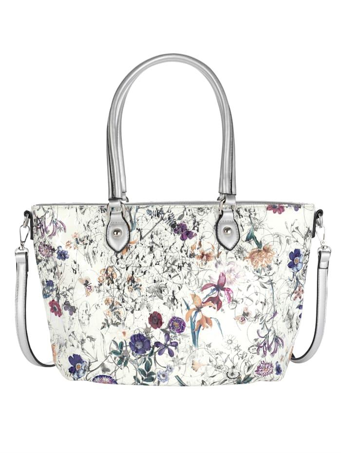 Shopper in schönem floralem Design