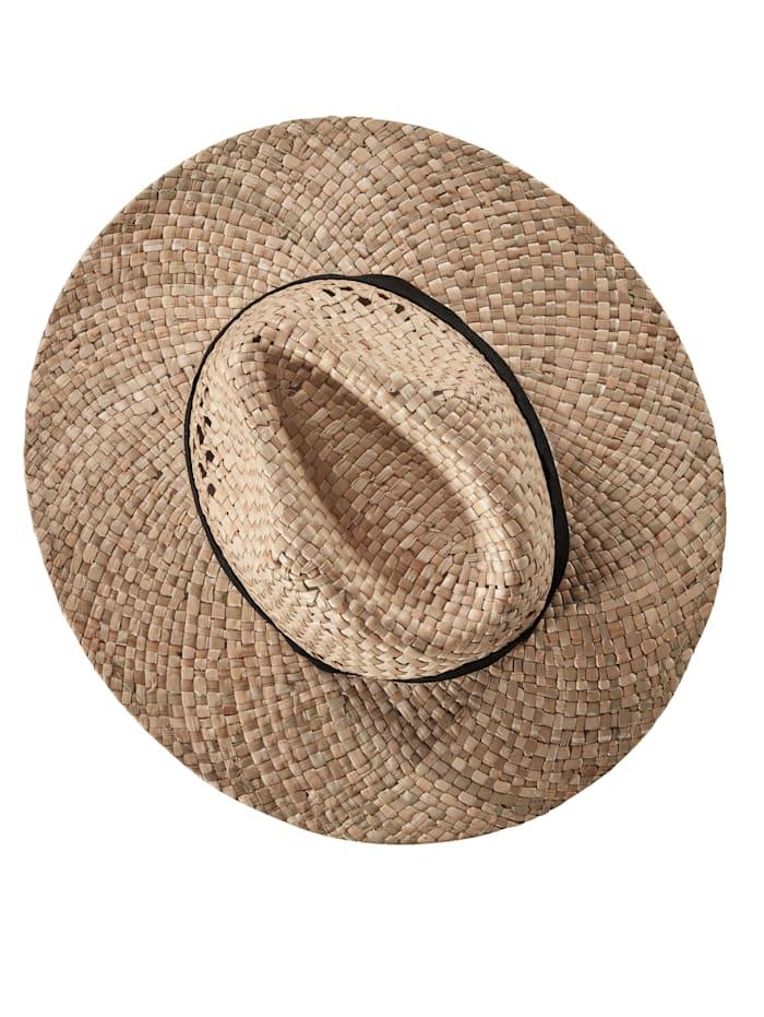 Slamený klobúk v unisex prevedení