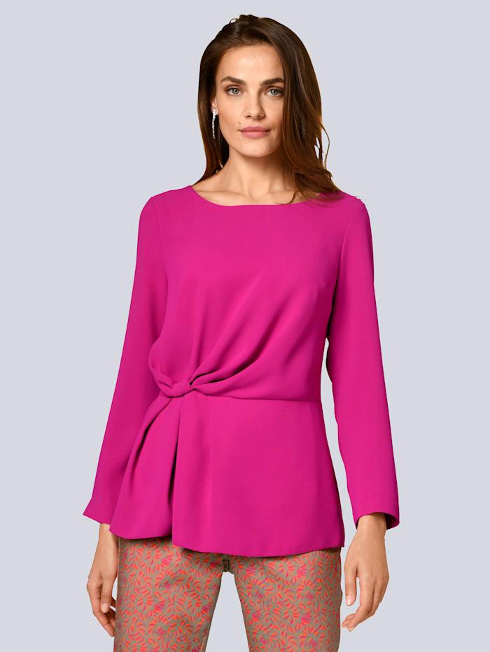 Alba Moda Blouse met geknoopt detail, Pink