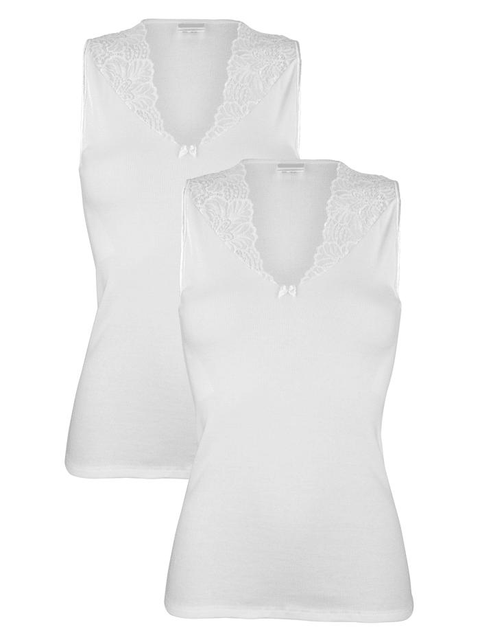 Harmony Blazershirts, Weiß