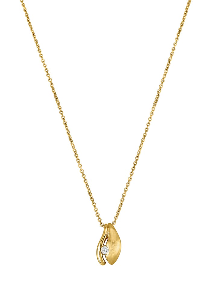 Golden Style Hanger met ketting van verguld messing, Geelgoudkleur