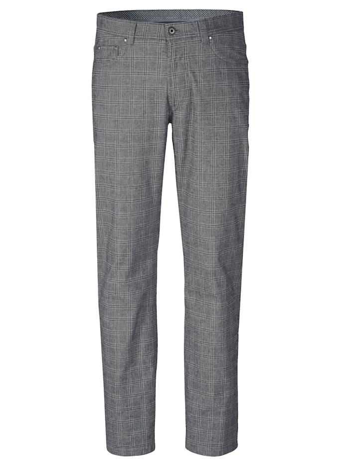 BABISTA Pantalon d'aspect laine, Gris
