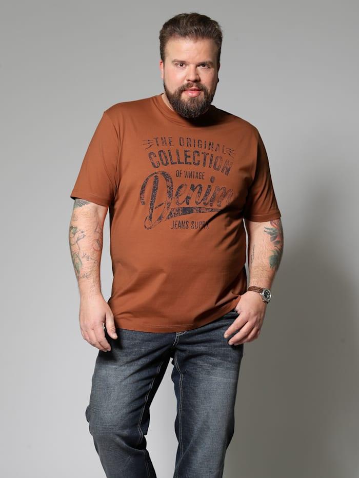 Men Plus T-Shirt, Terracotta