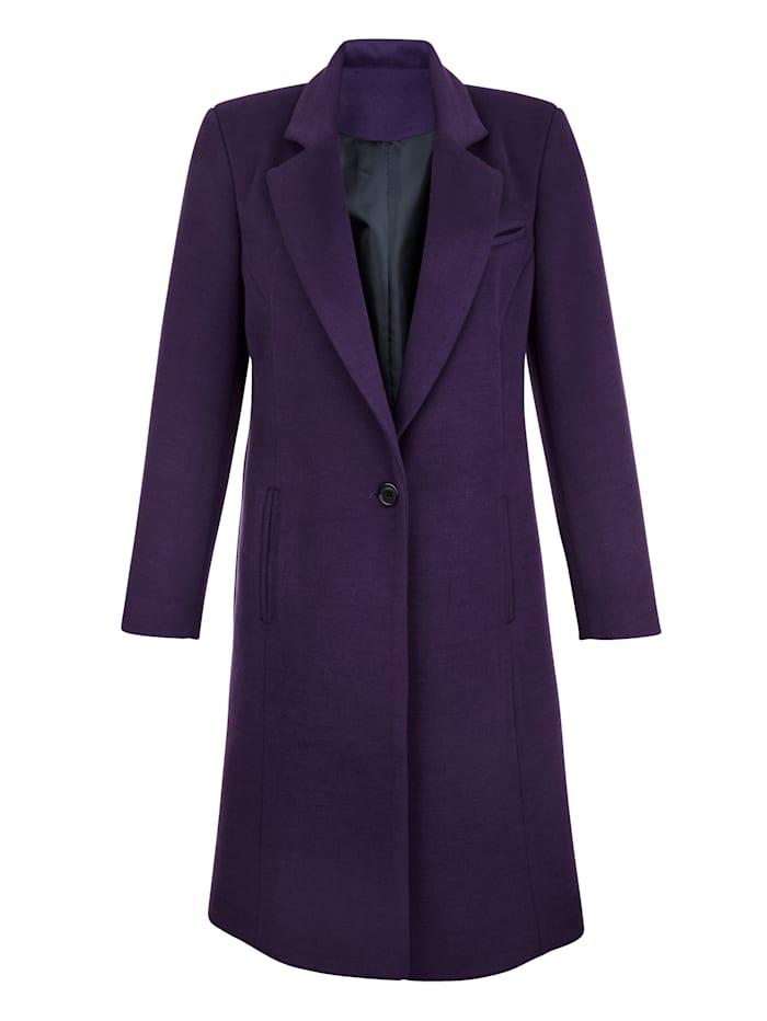 Manteau en matière douce